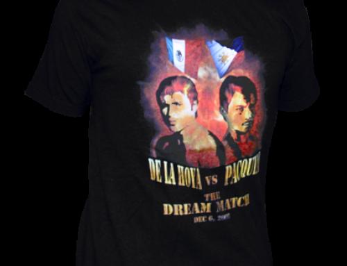 Pacquiao vs De La Hoya Tshirt