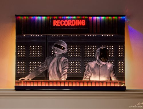 Daft Punk – Grammy Awards LED Painting