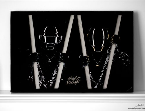 Random Access Memories 2 – Daft Punk LED Painting