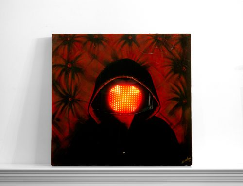 Squarepusher LED Painting